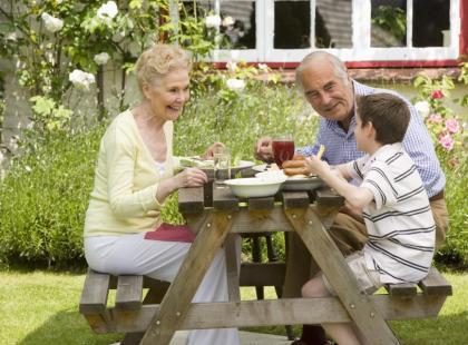 Wakacyjny wyjazd z dziadkami