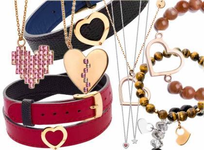 Walentynki 2014: przegląd biżuterii z motywem serca