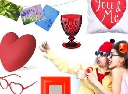 Walentynkowe gadżety na poważnie i z humorem