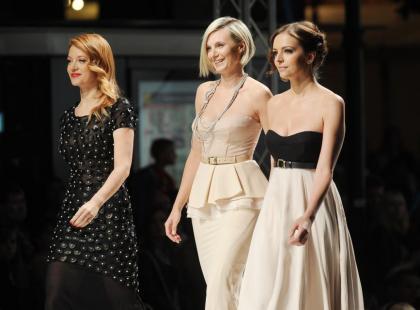 Warsaw Fashion Street 2011: Gwiazdy na wybiegu
