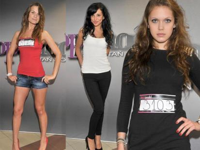 Warszawskie kandydatki na Top Model