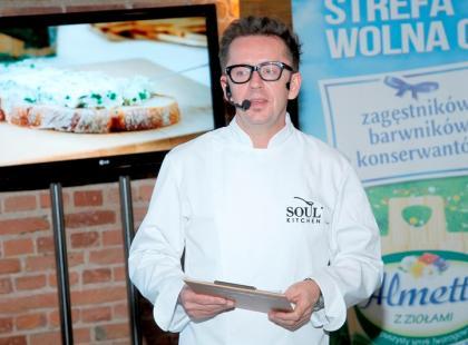 Warsztaty kulinarne Almette z Andrzejem Polanem