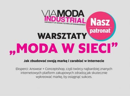 """Warsztaty """"Moda w sieci"""" już 18 maja!"""