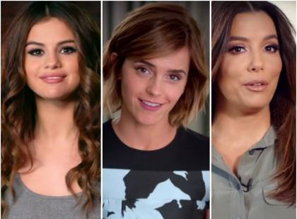 Watson, Gomez, Longoria nagrały spot, który powinna zobaczyć każda kobieta