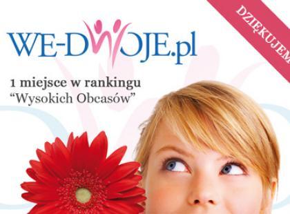 """We-Dwoje.pl zwycięzcą plebiscytu """"Wysokich Obcasów""""!"""