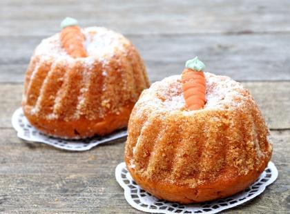 Wegetariańskie muffinki marchewkowe