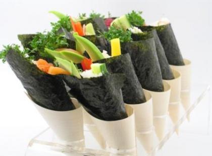 Wegetariańskie sushi - sposób