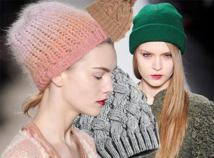Wełniane czapki - zima 2012