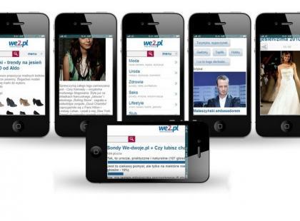Wersja Lajt We2 dla urządzeń mobilnych