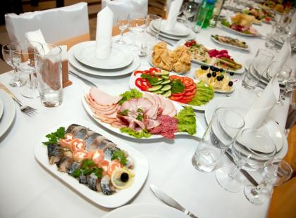 Weselne menu