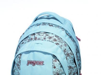 Wesołe torby, torebki i plecaki marki JanSport