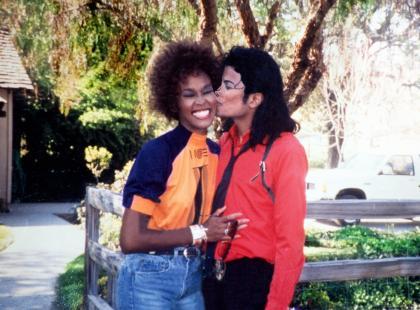 Whitney Houston i Michael Jackson - Prawie małżeństwo