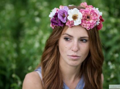 Wianki, wianuszki, kwiatowe opaski - kolekcja HappyLazy