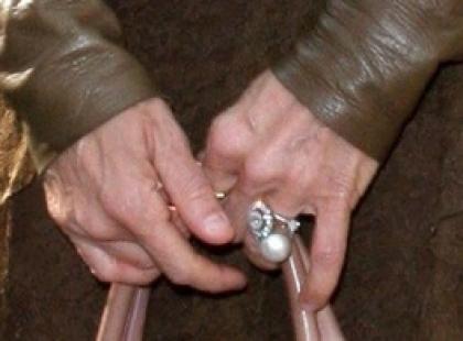 Wiek wypisany na dłoni