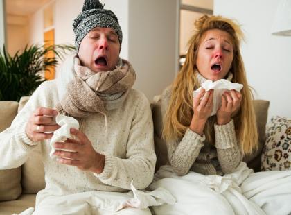 Większość infekcji przypominających grypę to paragrypy. Zobacz 5 różnic między nimi