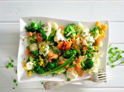 Wielka księga pomysłów: 91 przepisów na dania z łososiem