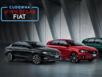 Wielka wyprzedaż samochodów z rocznika 2018 w Salonach Fiata, Jeepa, Alfy Romeo i Abartha!
