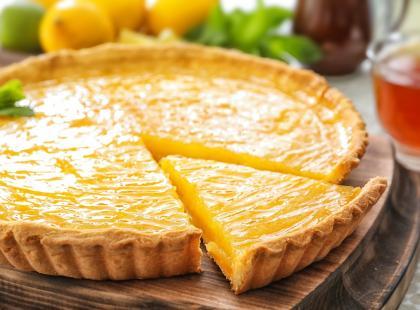 Wielkanocna tarta cytrynowa