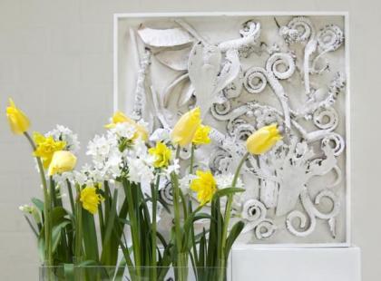Wielkanocne aranżacje kwiatowe