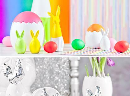 Wielkanocne ozdoby do nowoczesnych wnętrz