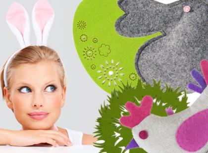 Wielkanocne ozdoby z filcu