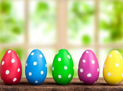 Wielkanocne życzenia - o pisankach i jedzeniu