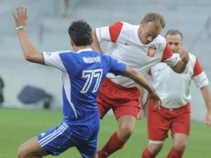 Wielki charytatywny mecz TVN - Sejm