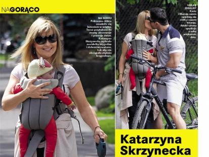 Wiemy, jak Katarzyna Skrzynecka dba o kondycję!