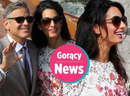 Wiemy kto zaprojektował suknię ślubną żonie Georga Clooney'a
