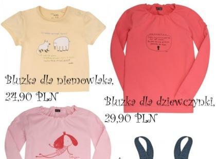 Wiosenna kolekcja ubrań dla dzieci marki ENDO