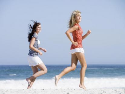 Wiosenne bieganie