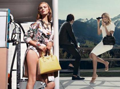 Wiosenne kampanie reklamowe 2012 - Prada, Chanel, Fendi i inne