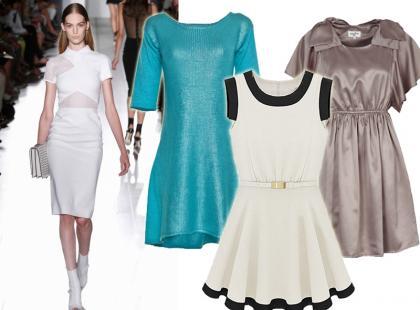 Wiosenne sukienki ze sklepów internetowych