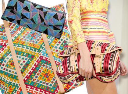 Wiosenne torby w zwariowane wzory