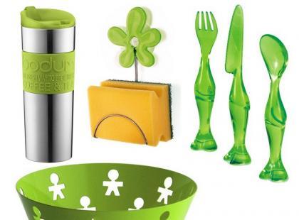 Wiosenne, zielone i soczyste dodatki do wnętrz