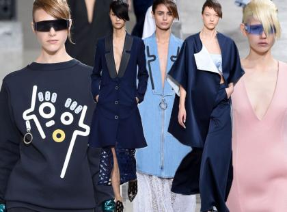 Wiosenno-letni pokaz Kenzo na Paris Fashion Week