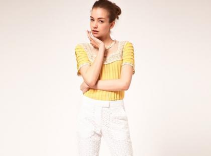 Wiosenno-letnie spodnie Asos