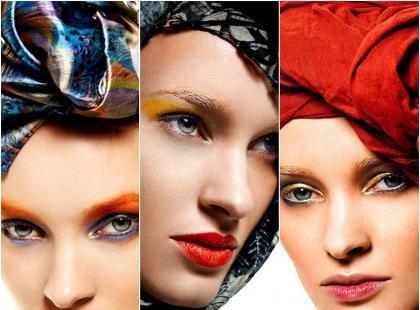 Wiosenny makijaż 2013 wg Qvest