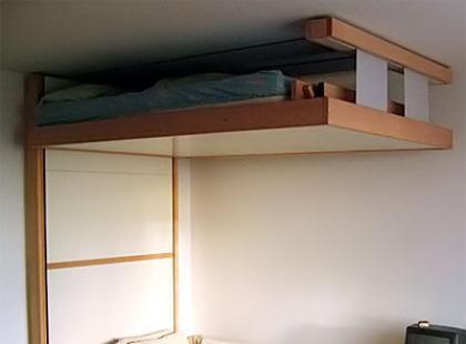 Wiszący pomysł na prostokątny pokój
