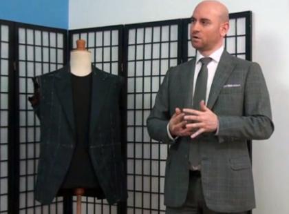 Wizyta u męskiego krawca - szycie sportowego garnituru [video]