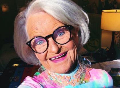 Właśnie taka chcę być mając 88 lat... jeśli dożyję