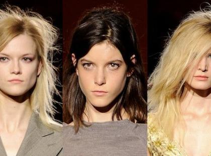 Włosy a la Kate Moss