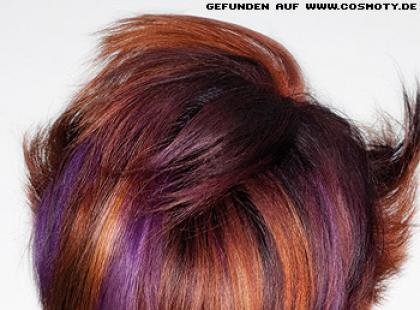 Włosy dwukolorowe