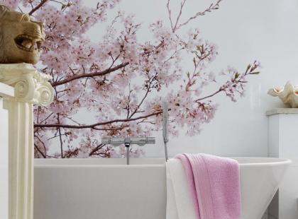 Wnętrzarski hit: łazienki z tapetą! Zrób sobie salon SPA we własnym domu!
