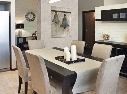 Wnętrzarski hit: otwarta kuchnia połączona z salonem