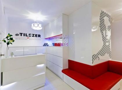 Wnętrze kliniki medycyny estetycznej Dr Tilszer