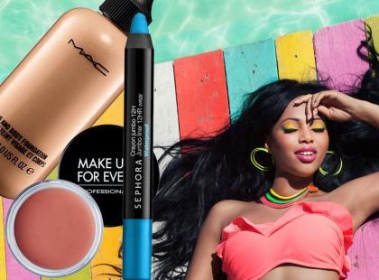 Wodoodporne kosmetyki do makijażu na lato - przegląd