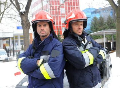 Woli i Tysio w straży pożarnej