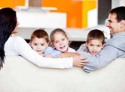 Rodzice i dzieci/ Fot. Fotolia