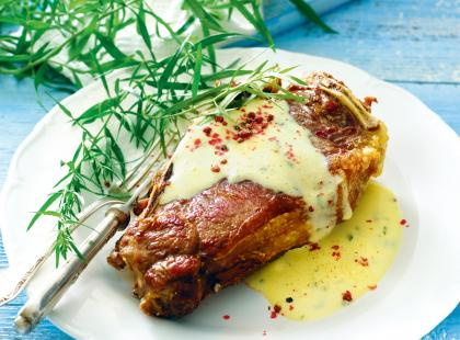 Wołowina w sosie estragonowym